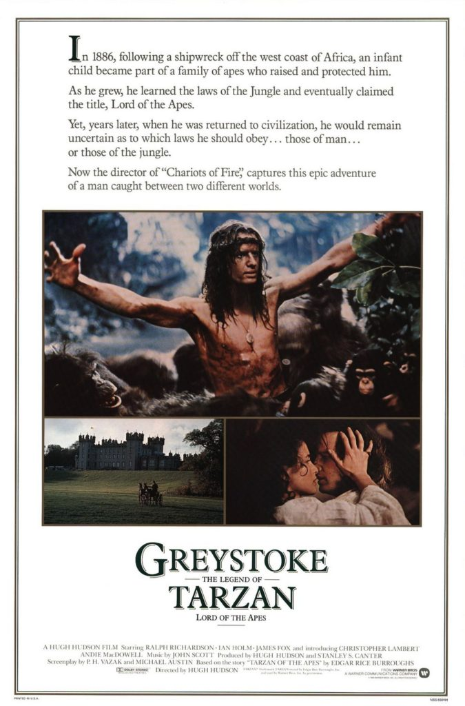 Greystoke- The Legend of Tarzan Lord of the Apes