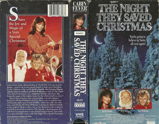 the night they saved christmas 1984 - The Night They Saved Christmas Dvd
